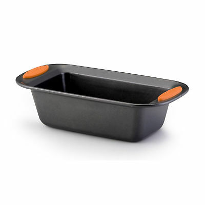 Rachael Ray Yum-o! Bakeware - 9-Inch x 5-Inch Oven Lovin Loaf Pan, Gray with