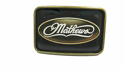 "Mathews Belt Buckle CLEARANCE Fits 1 1/2""  2ea Buckles For Snap on Buckle Belts"