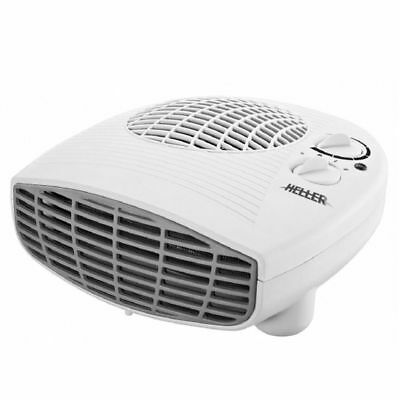 Heller HLFH 2000W Electric Portable Low Profile Fan Heater/Floor/Desk/Table