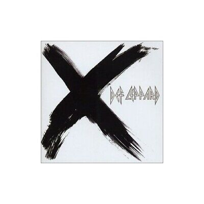 Def Leppard - X - Def Leppard CD WIVG The Cheap Fast Free Post The Cheap Fast