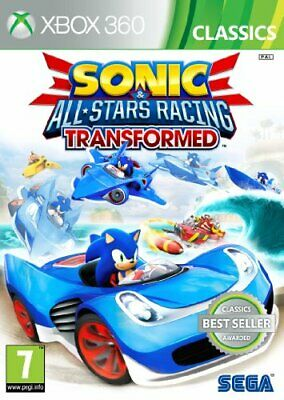 Sonic and All Stars Racing Transformed: Classics (Xbox 360) - Game  U6VG The