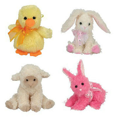 TY Basket Beanie Babies - Easter 2006 Complete set of 4 - MWMTs