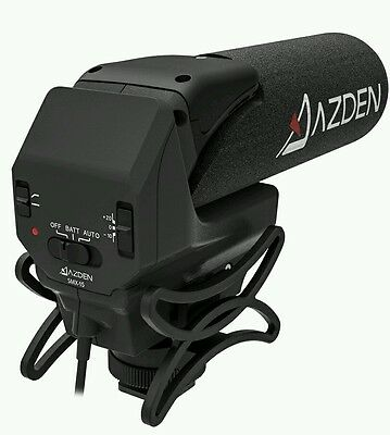 NEW Azden SMX-15 Powered Shotgun Video Microphone