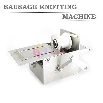 52mm Hand-rolling Sausage Tying and Knotting Machine Food 304 Stainless Steel