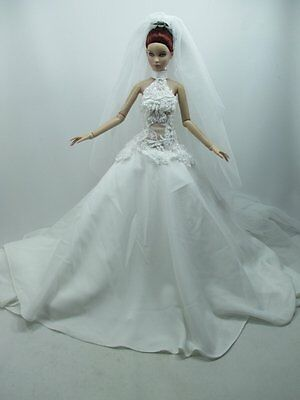 Outfit Dress Wedding Gown with veils Tonner Tyler 16 inches basic doll # 700-515