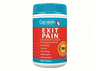 Caruso's Exit Pain Osteoarthritis Relief 120 Tablets