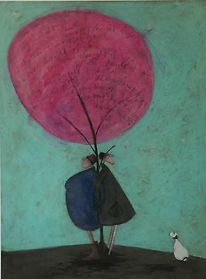 Sam Toft ' THE VERY THOUGHT OF YOU ' Signed Limited Edition Giclee Print