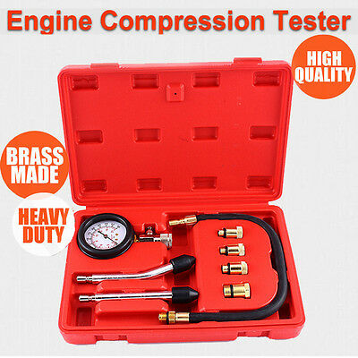 Petrol Engine Compression Test Tester Kit Set For Automotive Car Tool Au Stock