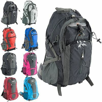Ice Walking Backpacks Hiking Festivals Cycling Unisex Rucksack