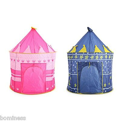 Kids Folding Play House Portable Outdoor Indoor Toy Tent Castle Cubby Playhut
