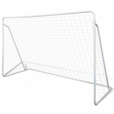 Set de but de football Cage de football avec poteaux et filet 240 x 90 x 150 cm