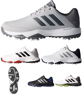 """NEW 2017""  adidas Adipower Bounce WD SPIKED Golf Shoes Lightweight Waterproof"