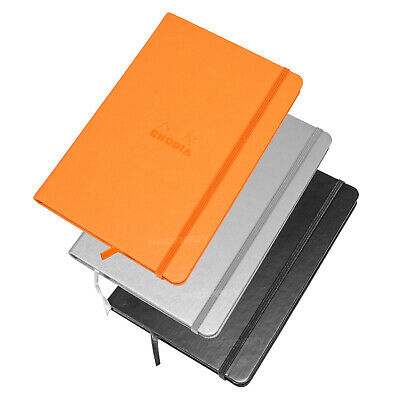 Rhodia Hardback Dot Book A5 Architects Graphic Art Grid Note Pad Webnotebook