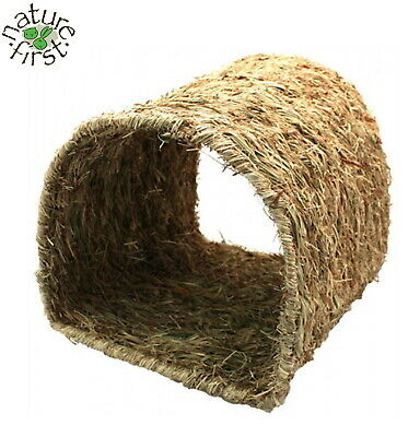 Nature First Grassy Tunnel Small Animal Guinea Pig Pet Rat Den House Hide 31046