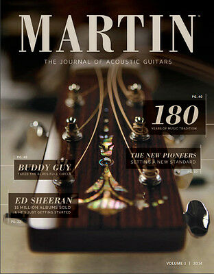 Martin The Journal Of Acoustic Guitars Vol. 1 2014 - First Issue! New