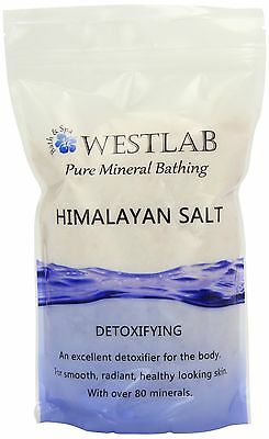 Westlab Himalayan Pink Salt Resealable Stand Up Pouch 1Kg