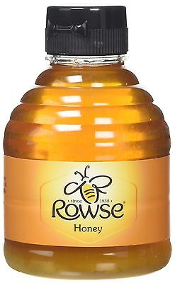 Rowse Easy Squeezable Pure Honey 340 g (Pack of 6)