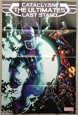 "MARVEL - ULTIMATES LAST STAND FOLDED PROMO POSTER - 24"" x 36"" INCH - BRAND NEW"