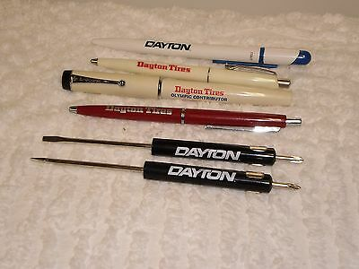 4 Dayton Tire Pens And 2 Screwdrivers