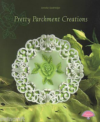PERGAMANO Parchment Craft Pattern Book PRETTY Parchment CREATIONS 97391
