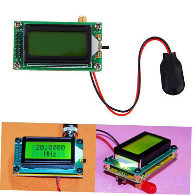 High Accuracy 1??500 MHz Frequency Counter Tester Measurement Meter NEW ZX