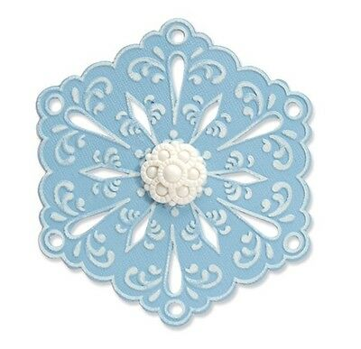 Sizzix Cutting Die & Embossing Fold ~Snowflake #4