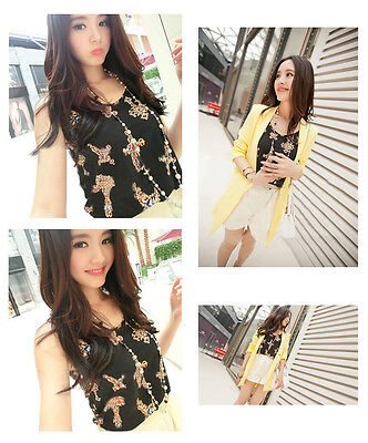 Hot All-match Women Girt Casual Chiffon Vest Top Tank Sleeveless Shirt Blouse