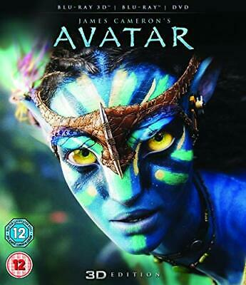 Avatar with Limited Edition Lenticular Artwork (Blu-ray 3D + Blu-... - DVD  UQVG