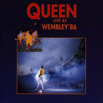 Queen - Live at Wembley 1986 - Queen CD J4VG The Cheap Fast Free Post The Cheap