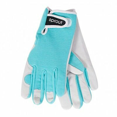 Annabel Trends Sprout Blue Ladies Goatskin Gloves | Garden House *free Delivery*