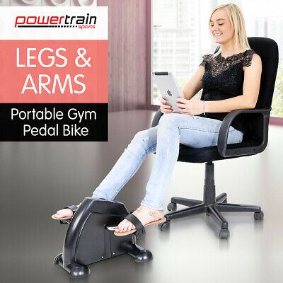Powertrain Portable Mini Trainer Exercise Machine Home Gym Pedal Bike Cycle