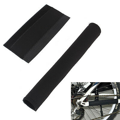 2Pcs Soft Cycling Bicycle MTB Bike Frame Chain Stay Pad Protector Guard Cover DY