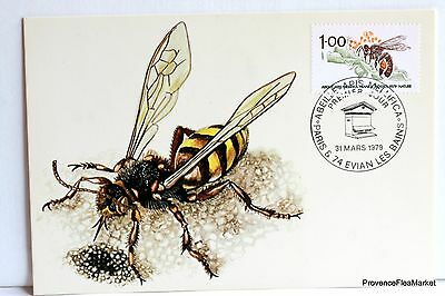 Yt 2039 L ABEILLE   CARTE MAXIMUM 1° JOUR FCP