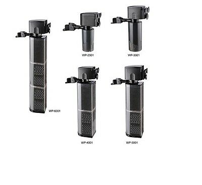 Aquarium Fish Tank Filtration Internal Filter Submersible Pump - UK Stock