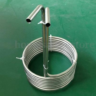 4 Sizes Stainless Steel Immersion Wort Chiller! Great for Home Brewing!