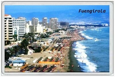 FUENGIROLA - JUMBO FRIDGE MAGNET - SPAIN COSTA de SOL MALAGA HOLIDAY VACATION 2