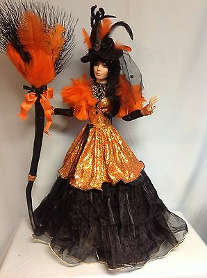 "Rustie Original BEWITCHED ROWENA  one-of-a-kind 34"" DOLL Unique"