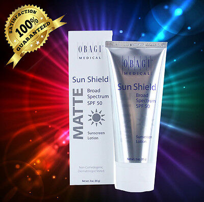 Obagi Sun Shield Matte Broad Spectrum SPF 50 3oz/85g New In Box exp 12/2019