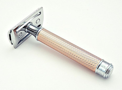 Muhle R89 Rose Gold Closed Comb Double Edge Safety Razor