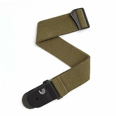 Planet Waves 50CT02 Cotton Guitar Strap, ArmyCotton Guitar Strap, Army  The D'Ad