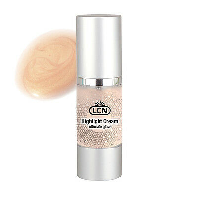 100ml/76,50€ ** LCN 30ml Highlight Cream Foundation Make Up Glow Bräunungseffekt