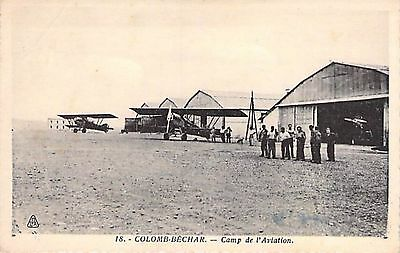 COLOMB - BECHAR - Camp Aviation
