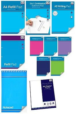 PAPER - Plain Ruled Square Copier Refill Notepad Notebook Back to School {Anker}