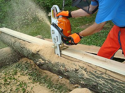 Sawmill Wood Lumber Maker Chain Saw Attachment Guide For Boards Planks Beams