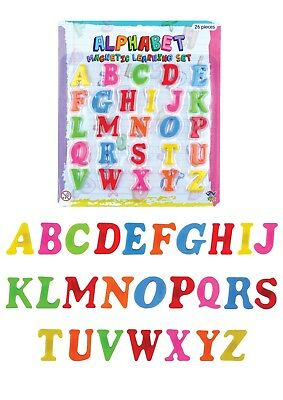 Kids Learning Teaching MAGNETIC Toy Letters Fridge Magnets Alphabet