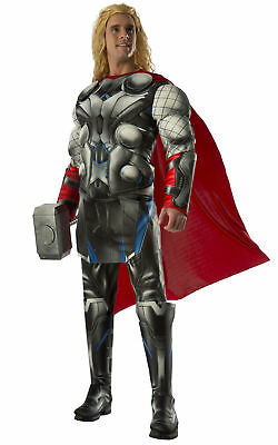 Thor Deluxe Muscle The Avengers Age of Ultron Marvel Superhero Men Costume