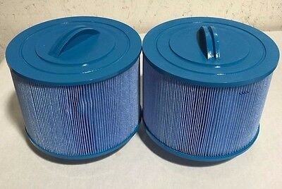 2 pack spa Filter Fits Unicel 8CH-950 Pleatco PBF50-F2S BULLFROG ANTIMICROBIAL