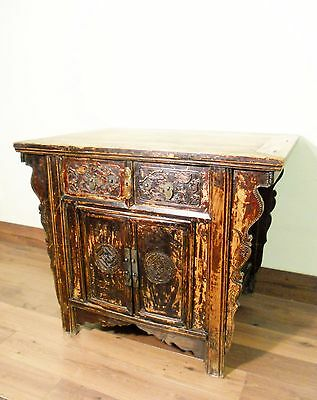 """Antique Chinese Ming """"Butterfly"""" Coffer (5603), Circa 1800-1849"""