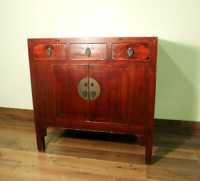 Antique Chinese Ming Cabinet (5665), Circa early of 19th century