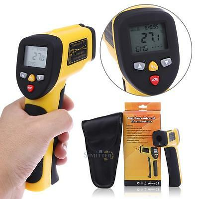 Non Contact Infrared Thermometer Digital Pyrometer IR Temperature Laser 1050°C